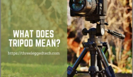 What Does Tripod Mean?